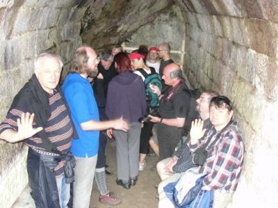 A torjai Büdös-barlangban