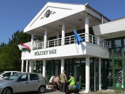 A verseny helyszíne, a Lakiteleki Népfőiskola Kölcsey háza