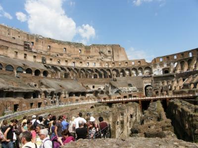 A Colosseum belsejében