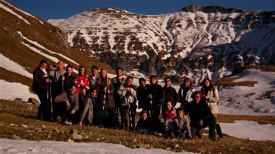 A Gaura-völgybe ért a kis csapat!