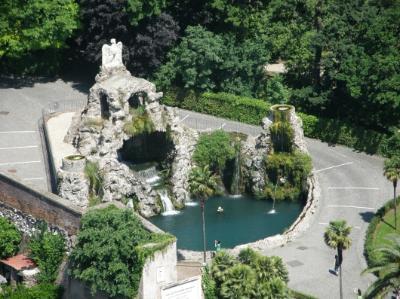 A Vatikán híres Sasos-kútja