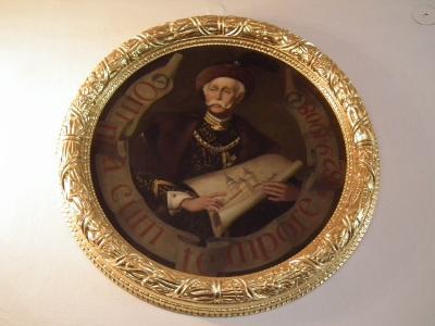 A kastély épíítetője, Pálffy István gróf
