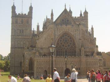 Katedrális megtekintése Exeterben