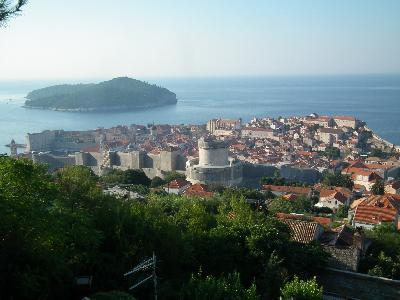 Dubrovnik az Adriai-főútról