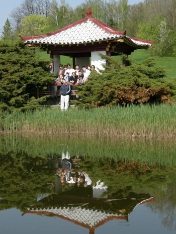 Egy eltévedt távol-keleti pagoda