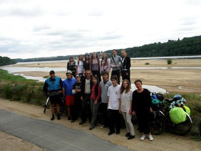 Először pillantottuk meg a Loire-t!